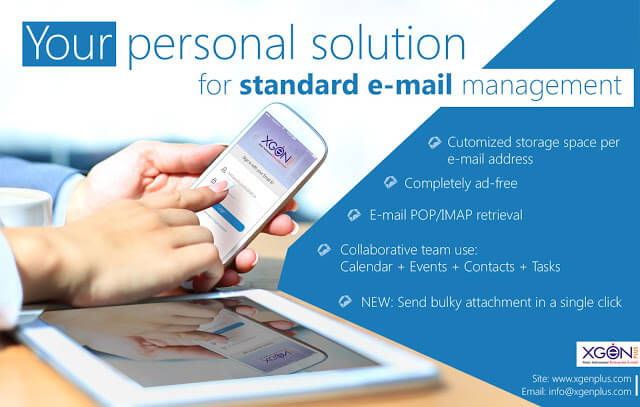 Your personal solution for standard e-mail management