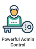 Powerful Admin Control